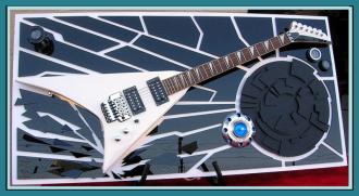 Guitar ART  STRANGE VOYAGE