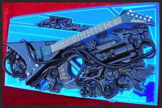 guitar art John Hoyt