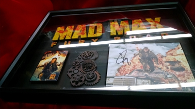 Mad Max Fury Road ART Tom Hardy signed photo