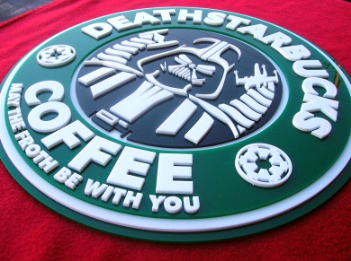 Darth Vader Deathstarbucks