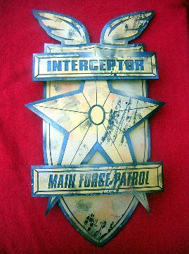 MAD MAX MFP Police Car emblem badge Fury Road Mel Gibson