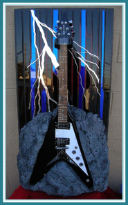 GUITAR ART   ROCK BOTTOM