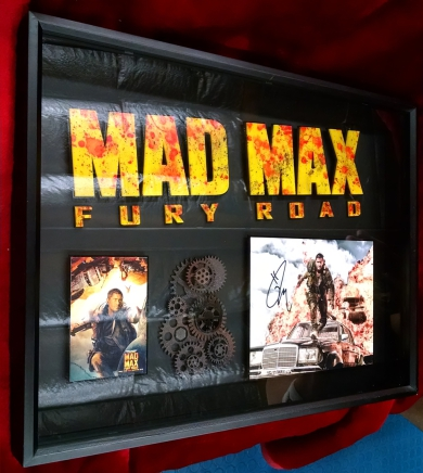 Mad Max Fury Road  signed Tom Hardy Art