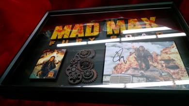 Mad Max Fury Road ART Tom Hardy signed photo