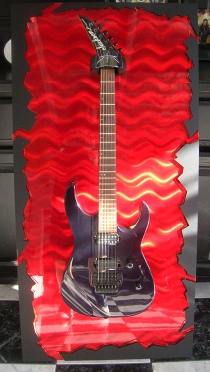 Guitar ART guitar wall hanger guitar hanger guitar display