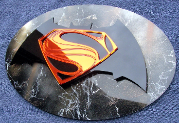 Batman vs. Superman Man of Steel art
