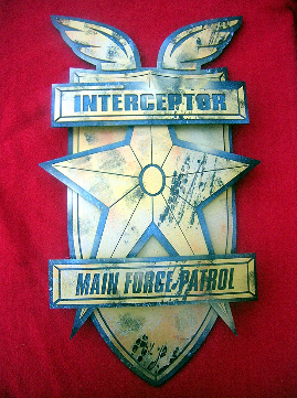 Mad Max MFP Police Car Emblem / Badge